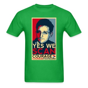 Yes we Scan - Men's T-Shirt