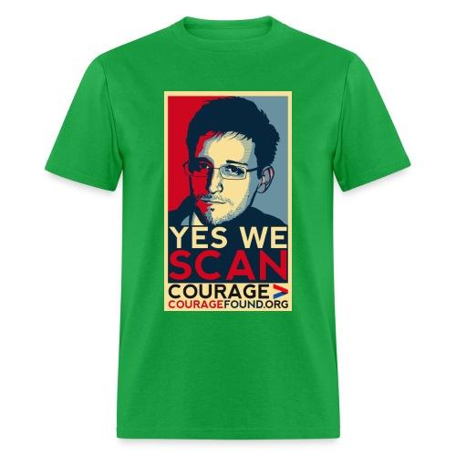 Yes we Scan - Men's T-Shirt