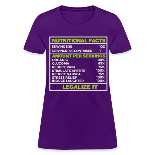 Legalize it - Women's T-Shirt