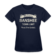 Women's T-Shirts ~ Women's T-Shirt ~ Welcome Banshee (Used version)
