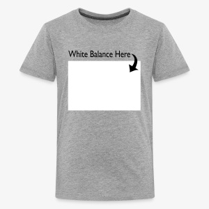 White Balance Kid's Shirt - Kids' Premium T-Shirt