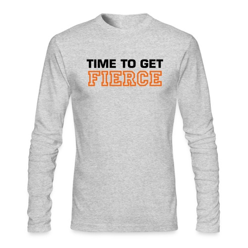 Fierce - Men's Long Sleeve T-Shirt by Next Level