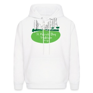 Chicago Green River - Men's Hoodie