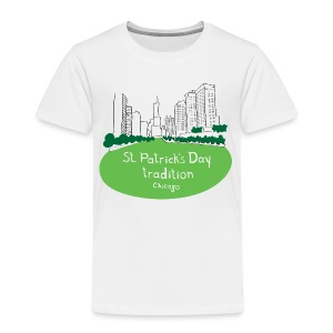 Chicago Green River - Toddler Premium T-Shirt