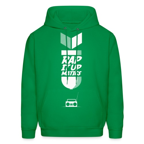 Rap it Up Greenie - Men's Hoodie
