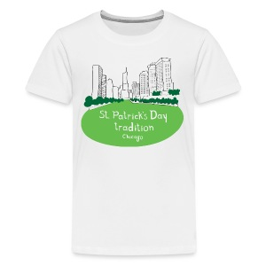 Chicago Green River - Kids' Premium T-Shirt