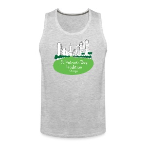 Chicago Green River - Men's Premium Tank