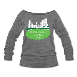 Chicago Green River - Women's Wideneck Sweatshirt