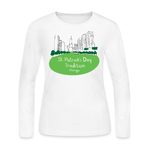 Chicago Green River - Women's Long Sleeve Jersey T-Shirt