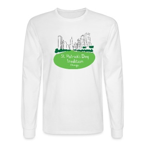 Chicago Green River - Men's Long Sleeve T-Shirt