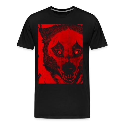 Rebel Dogs Red (on black shirt only) - Men's Premium T-Shirt