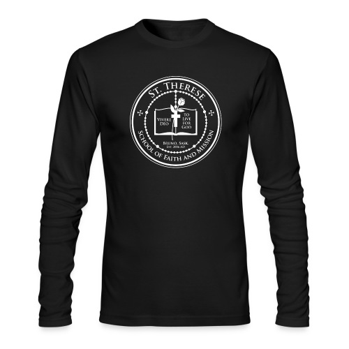 St. Therese Men's Long Sleeve - Men's Long Sleeve T-Shirt by Next Level