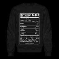 Long Sleeve Shirts ~ Crewneck Sweatshirt ~ Faded Nutrition