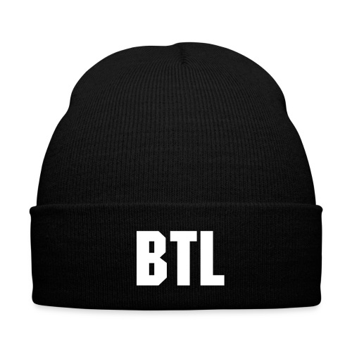BTL Beanie - Knit Cap with Cuff Print