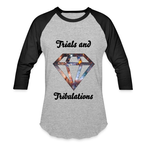 Diamond Trials and Tribulations Baseball Tee - Baseball T-Shirt