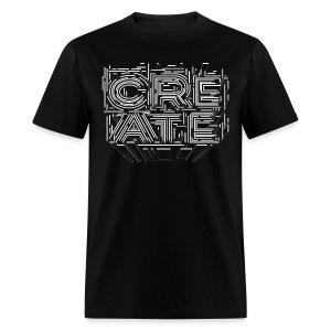 CREATE GRAFFITI ART TYPOGRAPHY T SHIRT - Men's T-Shirt