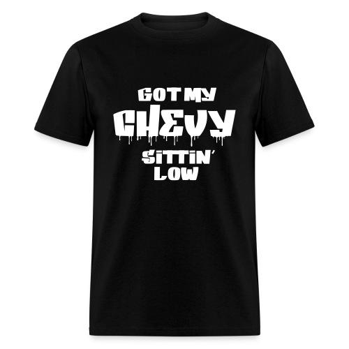 Sittin' Low v1 - Men's T-Shirt