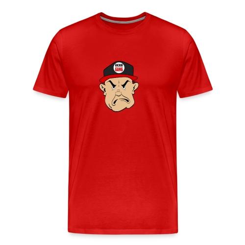 AG Logo Tee (Red) - Men's Premium T-Shirt