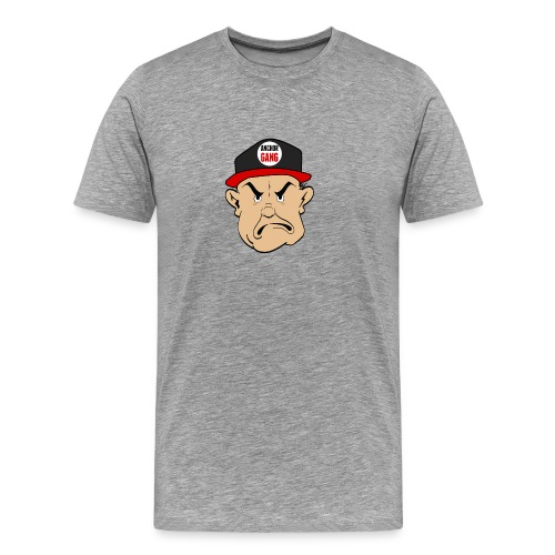 AG Logo Tee (Grey) - Men's Premium T-Shirt