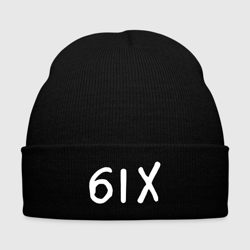 6IX Shirt Caps - Knit Cap with Cuff Print