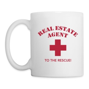 RE Agent to the Rescue Right Mug Wht - Coffee/Tea Mug