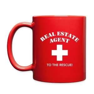 RE Agent to the Rescue Right Mug Blk - Full Color Mug