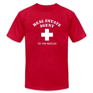 RE Agent to the Rescue AA - Men's T-Shirt by American Apparel