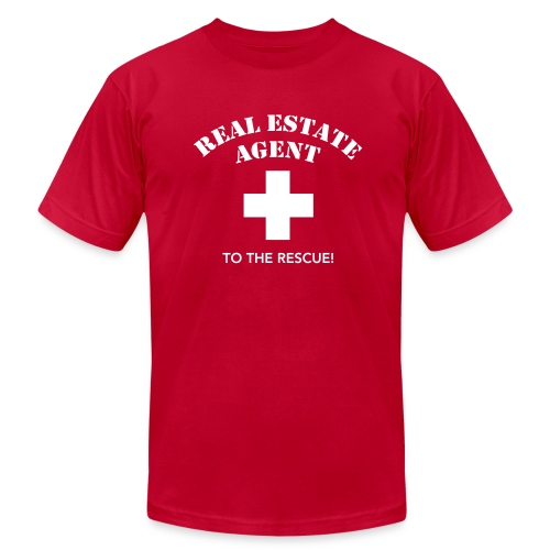 RE Agent to the Rescue AA - Men's  Jersey T-Shirt