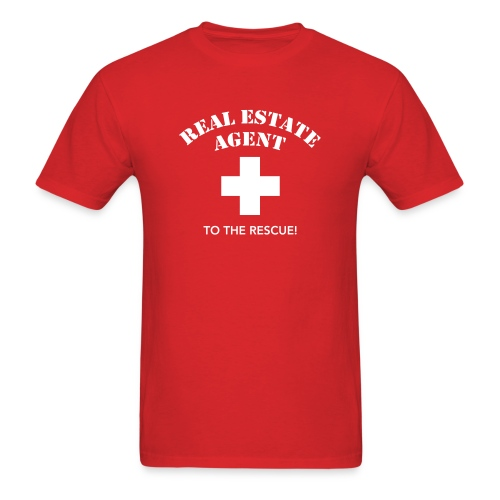 RE Agent to the Rescue Tee - Men's T-Shirt
