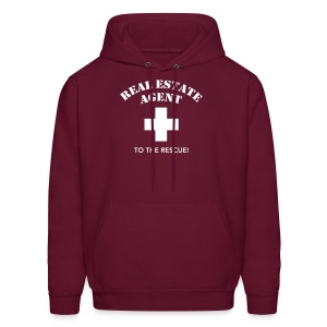 RE Agent to the Rescue Hooded - Men's Hoodie