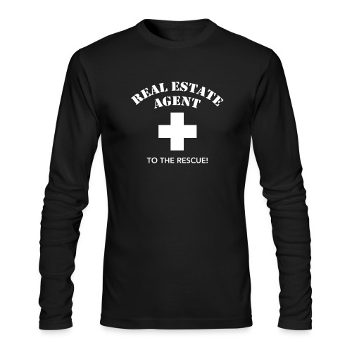 RE Agent to the Rescue AA - Men's Long Sleeve T-Shirt by Next Level