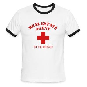 RE Agent to the Rescue Ringer - Men's Ringer T-Shirt