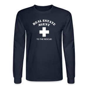 RE Agent to the Rescue Long - Men's Long Sleeve T-Shirt