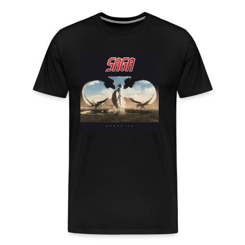 Men's Sagacity Album cover tour t - Men's Premium T-Shirt