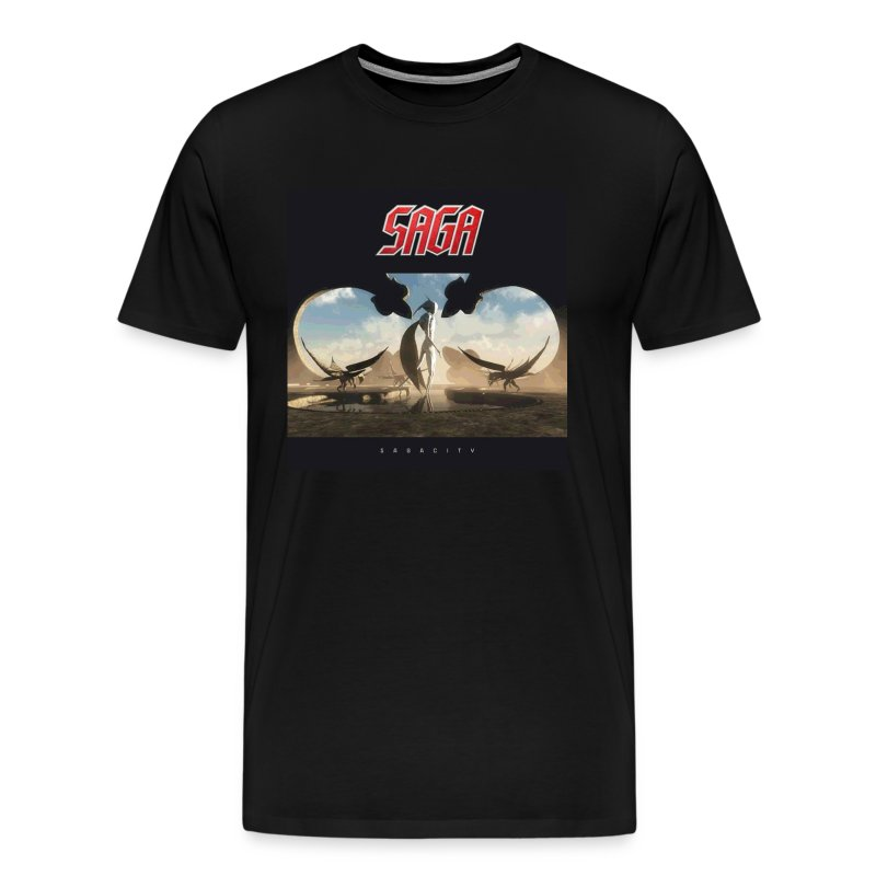 Men's Sagacity Album cover tour t - Men's Premium T-Shirt