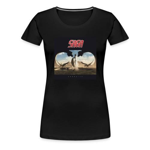 Ladies fitted Sagacity Album T - Women's Premium T-Shirt