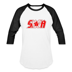 Saga retro baseball shirt - Baseball T-Shirt