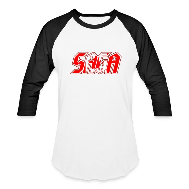 Saga retro baseball shirt