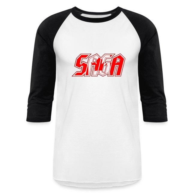 Saga retro baseball shirt