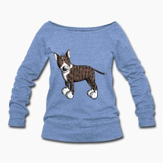 Cute Bull Terrier Long Sleeve Shirts