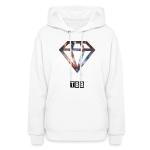 hoodie with diamond and tbb logo - Women's Hoodie