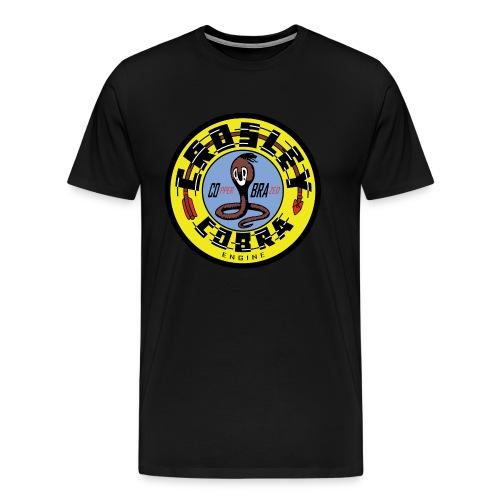 Crosley COBRA vintage sign flat version - Men's Premium T-Shirt