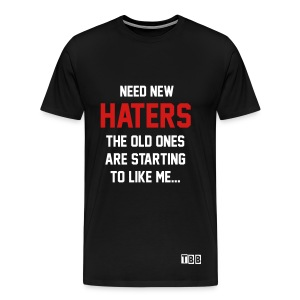 Need new haters shirt - Men's Premium T-Shirt