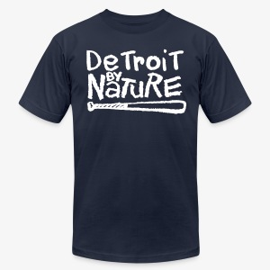 Detroit By Nature - Men's T-Shirt by American Apparel