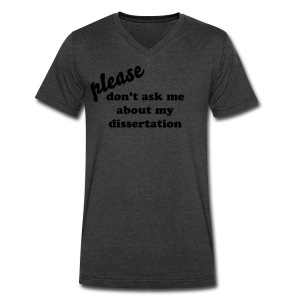 Don't Ask - Men's V-Neck T-Shirt by Canvas