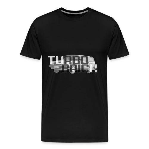 Volvo 245 - Turbo Brick - Men's Premium T-Shirt
