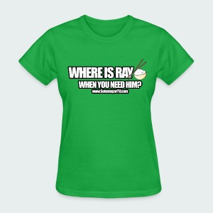 Where Is  Ladies - Women's T-Shirt