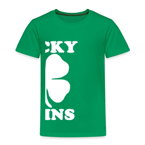 Lucky Twins Right-Side - Toddler Premium T-Shirt
