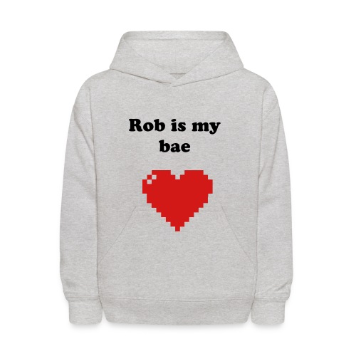 Cassy.D 'Rob is my bae' KID'S HOODIE - Kids' Hoodie