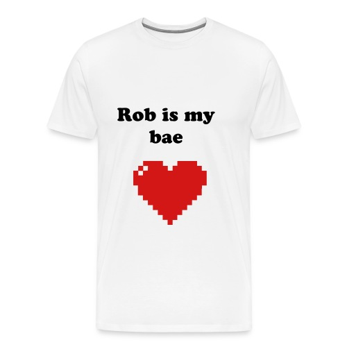 Cassy.D 'Rob is my bae' MEN'S SHIRT - Men's Premium T-Shirt